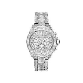 マイケルコース 時計 ウォッチ 腕時計 Michael Kors Silvertone Wren Stainless Steel Chronograph Watch MK6317