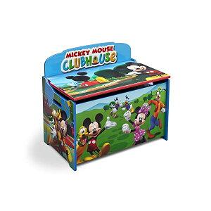 ミッキー ミニー ディズニー おもちゃ 収納 おもちゃ箱 お片付け 収納 ベンチ キッズ ボックス 子供 部屋 おしゃれ 入学祝 入園祝 卒園祝 お誕生日 プレゼント Delta Children Deluxe Toy Box, Disney Mick