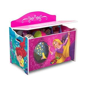 ディズニープリンセス ラプンツェル ベル アリエル おもちゃ 収納 おもちゃ箱 お片付け 収納 ベンチ キッズ ボックス 子供 部屋 おしゃれ 入学祝 入園祝 卒園祝 お誕生日 プレゼント Delta Child