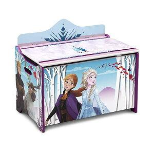 アナと雪の女王2 エルサ ディズニー おもちゃ 収納 おもちゃ箱 お片付け 収納 ベンチ キッズ ボックス 子供 部屋 おしゃれ 入学祝 入園祝 卒園祝 お誕生日 プレゼント Delta Children Deluxe Toy Box, D