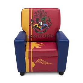 ハリーポッター キッズチェア ソファ ローチェア 子供椅子 キッズソファ 入学祝 入園祝 卒園祝 お誕生日 プレゼント 自宅学習 Delta Children High Back Upholstered Chair, Harry Potter