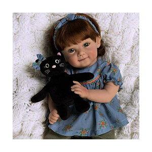 パラダイスギャラリーズ ベビードール 赤ちゃん 人形 着せ替え リアル 本物そっくり おままごと おもちゃ Paradise Galleries Reborn Toddler Doll in Fall/Halloween Themed Outfit, 19 Inch Pumpkin Spice Realistic Girl, 8-