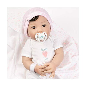 パラダイスギャラリーズ ベビードール 赤ちゃん 人形 着せ替え リアル 本物そっくり おままごと おもちゃ Paradise Galleries Asian Realistic Newborn Baby Doll with Rooted Hair - Forever Yours Blessing, 7-Piece Reborn G