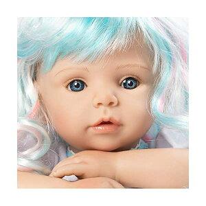 パラダイスギャラリーズ ベビードール 赤ちゃん 人形 着せ替え リアル 本物そっくり おままごと おもちゃ Paradise Galleries 22 inch Reborn Mermaid Doll - Real Looking Toddler Doll Mermaid Dreams with Rainbow Wig and S