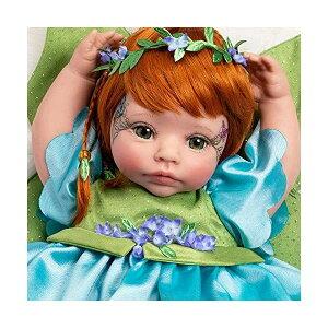 パラダイスギャラリーズ ベビードール 赤ちゃん 人形 着せ替え リアル 本物そっくり おままごと おもちゃ Paradise Galleries Reborn Fairy Doll - Pixie, 19 Inch Real Looking with Auburn/Red Hair, Gentletouch Vinyl & Wei