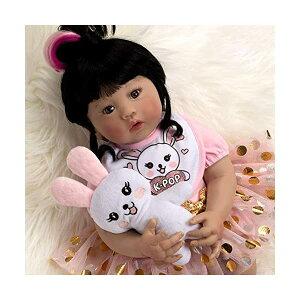 パラダイスギャラリーズ ベビードール 赤ちゃん 人形 着せ替え リアル 本物そっくり おままごと おもちゃ Paradise Galleries Asian Real Baby Doll That Looks Real K - pop Girl, 18 inch Korean Reborn Doll, GentleTouch Vi