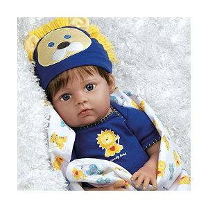 パラダイスギャラリーズ ベビードール 赤ちゃん 人形 着せ替え リアル 本物そっくり おままごと おもちゃ Paradise Galleries Real Life Baby Doll Boy Lions & Tigers & Bears, Oh My! 20 inch Reborn Baby Boy in GentleTouch