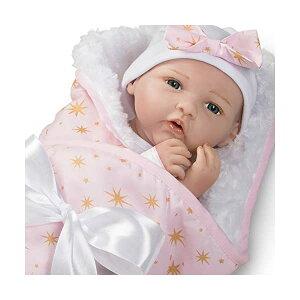 パラダイスギャラリーズ ベビードール 赤ちゃん 人形 着せ替え リアル 本物そっくり おままごと おもちゃ Paradise Galleries Real Life Baby Doll Born to Sparkle, 19 inch Reborn Baby Girl Crafted in Silicone-Like Vinyl