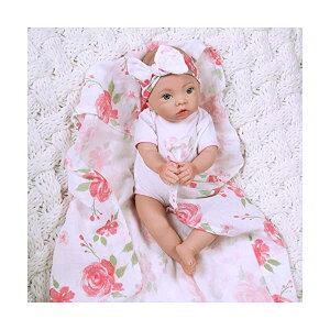 パラダイスギャラリーズ ベビードール 赤ちゃん 人形 着せ替え リアル 本物そっくり おままごと おもちゃ Paradise Galleries Preemie Real Looking Baby Doll, 16 inch Reborn Girl, Swaddlers Rose Petal, GentleTouch Vinyl