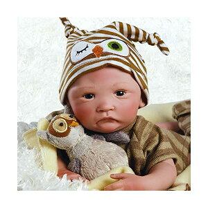 パラダイスギャラリーズ ベビードール 赤ちゃん 人形 着せ替え リアル 本物そっくり おままごと おもちゃ Paradise Galleries Preemie Real Baby Doll That Looks Real Hoot Hoot, 15 inch Reborn Boy Doll, GentleTouch Vinyl