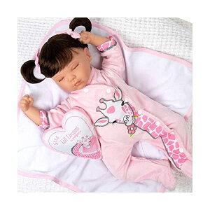 パラダイスギャラリーズ ベビードール 赤ちゃん 人形 着せ替え リアル 本物そっくり おままごと おもちゃ Paradise Galleries Reborn Toddler Doll with a Heartbeat - Sleeping Tall Dreams, 20 Inch Girl in SoftTouch Vinyl