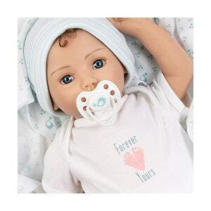 パラダイスギャラリーズ ベビードール 赤ちゃん 人形 着せ替え リアル 本物そっくり おままごと おもちゃ Paradise Galleries Realistic Newborn Baby Doll Boy with Rooted Hair - Forever Yours Trust, 7-Piece Reborn Doll G