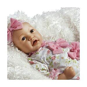 パラダイスギャラリーズ ベビードール 赤ちゃん 人形 着せ替え リアル 本物そっくり おままごと おもちゃ Paradise Galleries Real Life Baby Doll That Looks Real - Layla in Flextouch Silicone Like Vinyl, 21 Inch Reborn