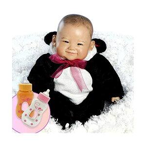 パラダイスギャラリーズ ベビードール 赤ちゃん 人形 着せ替え リアル 本物そっくり おままごと おもちゃ Paradise Galleries Bundle Reborn Asian Baby Doll, 20 inch Realistic Girl Doll Su-lin in GentleTouch Vinyl & Weig