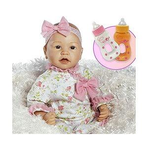 パラダイスギャラリーズ ベビードール 赤ちゃん 人形 着せ替え リアル 本物そっくり おままごと おもちゃ Paradise Galleries Bundle Real Life Baby Doll That Looks Real - Layla in FlexTouch Silicone Like Vinyl, 21 inch