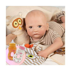 パラダイスギャラリーズ ベビードール 赤ちゃん 人形 着せ替え リアル 本物そっくり おままごと おもちゃ Paradise Galleries Bundle Hoot! Hoot! Baby Doll That Looks Like a Real Baby, 16 inch Vinyl, Preemie Reborn Boy,
