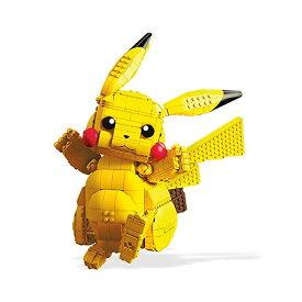 ポケモン ブロック おもちゃ メガブロック ピカチュウ メガコンストラックス Mega Construx Pokemon Jumbo Pikachu
