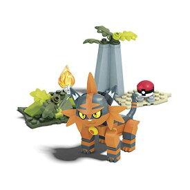 ポケモン ブロック おもちゃ メガブロック ニャヒート メガコンストラックス Mega Construx Pokemon Torracat Building Set