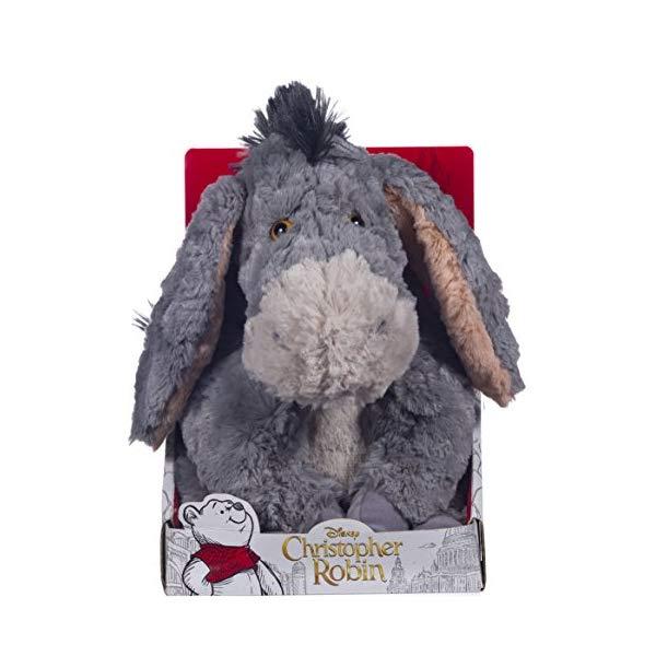 プーと大人になった僕 くまのプーさん イーヨー ぬいぐるみ ソフトトイ Posh Paws 37467 Christopher Robin Collection Winnie the Pooh Eeyore Soft Toy
