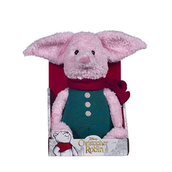 プーと大人になった僕 くまのプーさん ピグレット ぬいぐるみ ソフトトイ Posh Paws 37468 Christopher Robin Collection Winnie the Pooh Piglet Soft Toy