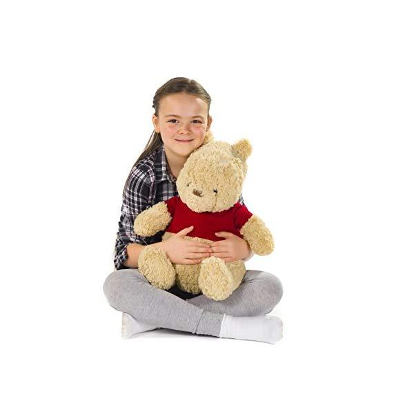 ディズニー プーと大人になった僕 くまのプーさん 大きい ぬいぐるみ ソフトトイ Posh Paws 37488 Disney Christopher Robin Large Winnie the Pooh Soft Toy
