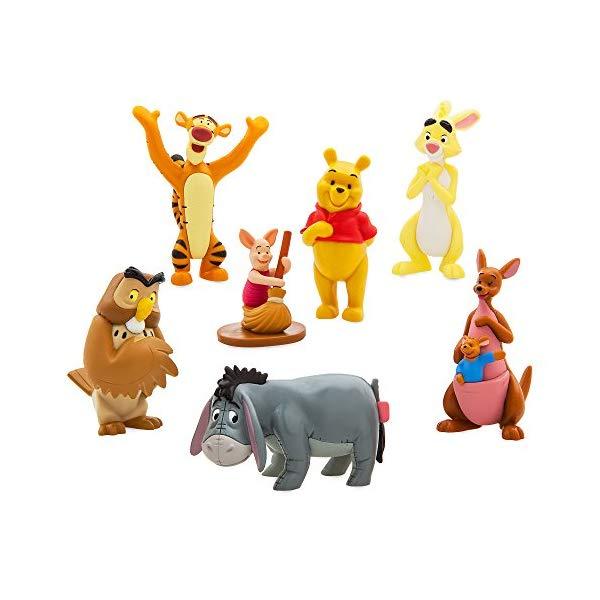 ディズニー プーと大人になった僕 くまのプーさん フィギュア 人形 セット Disney Winnie The Pooh Figure Play Set