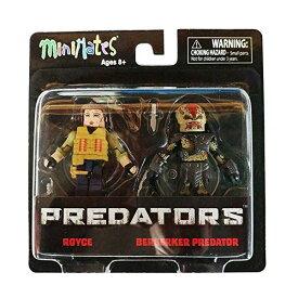 プレデター ミニメイツ フィギュア 人形 Minimates Predators Royce & Berserker Predator