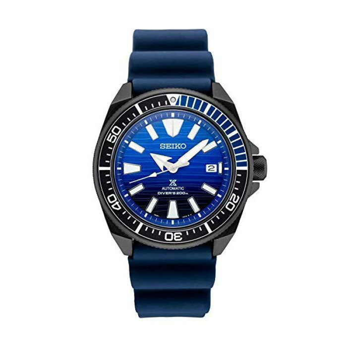 SeikoProspexSRPD09SpecialEditionBlueSiliconeAutomaticDiversWatch
