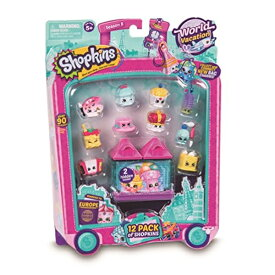 ショップキンズ おもちゃ 人形 ドール フィギュア Shopkins Series 8 - Wave 1 - 12 Pack (Random Pack Supplied) (Dispatched From UK)