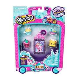 ショップキンズ おもちゃ 人形 ドール フィギュア Shopkins Series 8 - Wave 1 - 5 Pack (Random Pack Supplied) (Dispatched From UK)