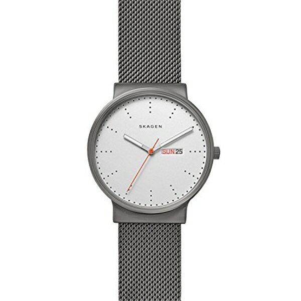 スカーゲン Skagen 腕時計 Skagen Men's SKW6321 Ancher Titanium Grey Leather Watch