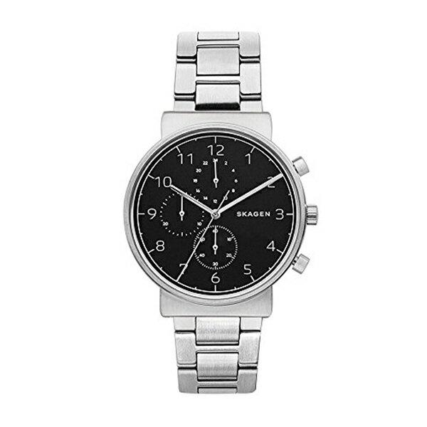 スカーゲン Skagen 腕時計 Skagen Men's SKW6360 Ancher Silver Link Chronograph Watch