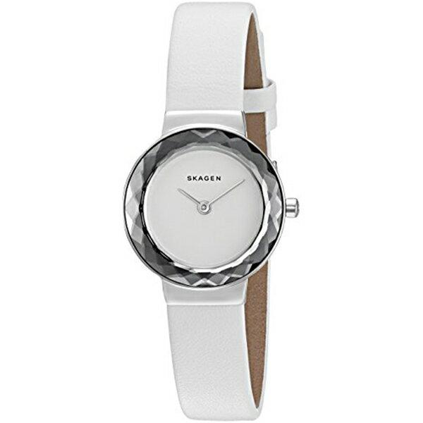 スカーゲン Skagen 腕時計 Skagen Women's SKW2424 Leonora White Leather Watch