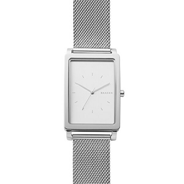 スカーゲン Skagen 腕時計 Skagen Men's SKW6288 Hagen Stainless Steel Mesh Watch
