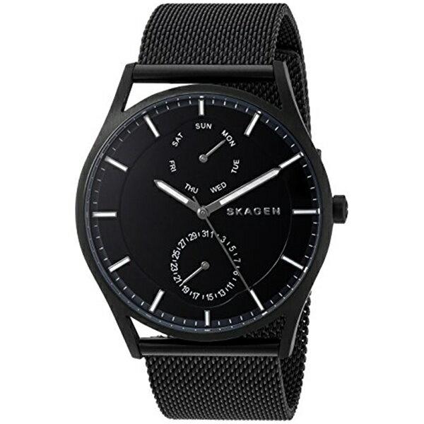 スカーゲン Skagen 腕時計 Skagen Men's SKW6318 Holst Black Mesh Watch