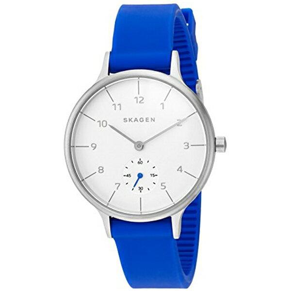 スカーゲン Skagen 腕時計 Skagen Women's SKW2602 Anita Blue Silicone Watch
