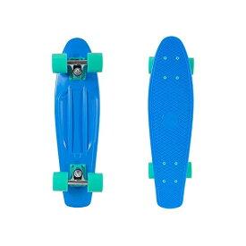 """スケートボード スケボー クルーザー コンプリート レトロスペック 直輸入 海外モデル Retrospec Quip Skateboard 22.5"""" Classic Retro Plastic Cruiser Complete Skateboard with Abec 7 bearings and PU wheels, Royal Blue (3172)"""