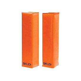 スキルズ SKLZ スポーツ トレーニングギア 練習 トレーナー フィットネス 自主練 部活 自宅トレーニング おうち時間 筋トレ SKLZ Football End Zone Pylons (1 Pair),Orange