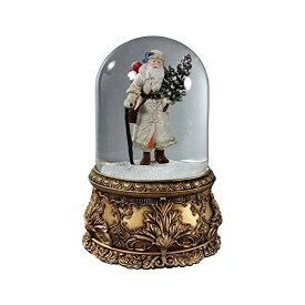 スノードーム クリスマス プレゼント サンタクロース ツリー Santa Musical Domed Water Globe San Francisco Music Box