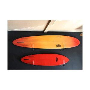 パシフィックバイブレーション サーフィン フィン サーフグッズ マリンスポーツ サーフボード ロングボード ラック インテリア フィン型フック 壁掛け クリア PACIFIC VIBRATIONS Thick Acrylic Surfboa