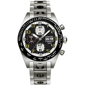 ティソ Tissot 腕時計 メンズ 時計 Tissot Men's T0214142120700 PRS516 Chronograph Nascar Watch
