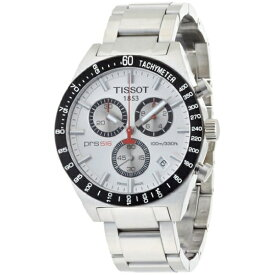 ティソ Tissot 腕時計 メンズ 時計 Tissot Men's T0444172103100 T-Sport PRS516 Quartz Silver Chronograph Dial Watch