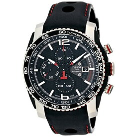 ティソ Tissot 腕時計 メンズ 時計 Tissot Men's T0794272605700 PRS 516 Analog Display Swiss Automatic Black Watch