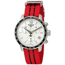 ティソ Tissot 腕時計 メンズ 時計 NBA バスケットボール Tissot Men's 'Quickster' Swiss Quartz Stainless Steel and Nylon Watch, Color:Red (Model: T0954171703704)