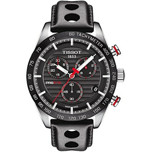 ティソ Tissot 腕時計 メンズ 時計 Tissot t1004171605100 PRS 516 QUARTZ CHRONOGRAPH