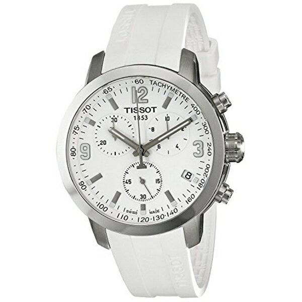 ティソ Tissot 腕時計 メンズ 時計 TISSOT watch PRC200 Chronograph T0554171701700 Men's [regular imported goods]