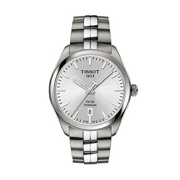 ティソ Tissot 腕時計 メンズ 時計 Tissot T101.410.44.031.00 Men's Watch PR 100 Silver 39mm Titanium