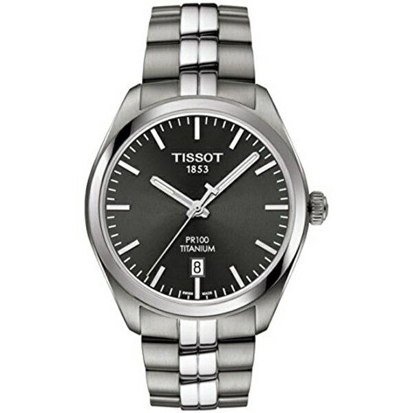 ティソ Tissot 腕時計 メンズ 時計 Tissot T101.410.44.061.00 Men's Watch PR 100 Silver 39mm Titanium