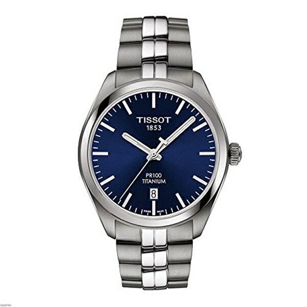 ティソ Tissot 腕時計 メンズ 時計 Tissot T101.410.44.041.00 Men's Watch PR 100 Silver 39mm Titanium