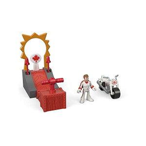 トイストーリー4 デューク・カブーン スタントマン おもちゃ セット フィッシャープライス 人形 Toy Story Fisher-Price Disney Pixar 4 Stuntman